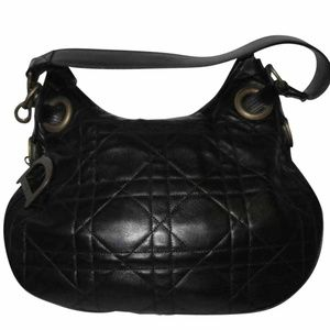 Dior Cannage Leather Hobo
